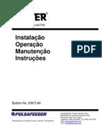 Foster IOM -Manual de Instalação, Operação e Manutenção em Português