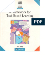 A Framework to Task-based Learning