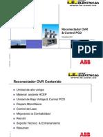 Reconectador OVR ABB