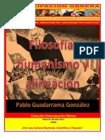 Libro No. 351. Filosofía, humanismo y alineación.  Guadarrama González, Pablo.  Colección Emancipación Obrera. Noviembre 3 de 2012