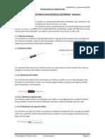 Resistores Eléctricos. Lic. Edgardo Faletti (2012)