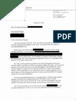 Attorney Larry Zerner & Vincent Tylor Settlement Demand Letter