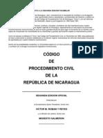 CÓDIGO DE PROCEDIMIENTO CIVIL DE LA REPÚBLICA DE NICARAGUA Tomo II