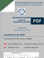 Microprocesadores - Clase 02 - Arquitectura Del 8086
