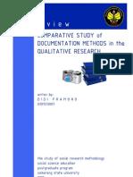 Metode Dokumen dalam Penelitian Kualitatif