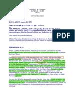 Cebu Oxygen & Acetylene Co. Inc. vs. Bercilles.