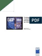 Catalogue of International Standards Petroleoum and Gas Industries