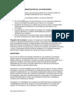 Admon de Los Invent Clase 3 Alumnos