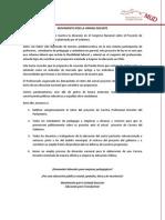 Declaración Rechazo CPD