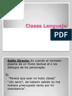 Clases Lenguaje