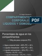 Compartimentos Corporales, Liquidos y Osmosis