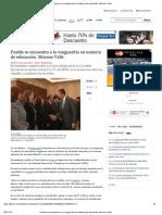05-10-12 Milenio - Puebla se encuentra a la vanguardia en materia de educación_ Moreno Valle