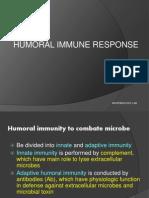 Humoral Immunity Farmasi