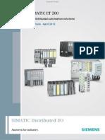 Brochure Simatic-et200 En