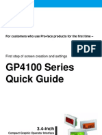 PRO FACE Gp4100 Quickguide Eng