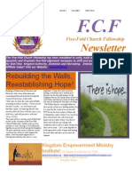 Five Fold Church Fellowship Newsletter Issue 1