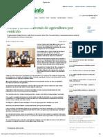 16-10-12 El Golfo - Firma Puebla Convenio de Agricultura Por Contrato