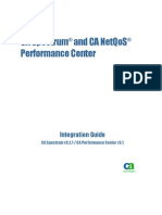 Spectrum Performance Center Integration ENU