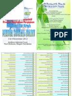 Buku Program Seminar Retrospektif dan Prospektif Promosi Kesihatan Pergigian