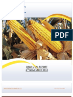 DAILY AGRI REPORT BY EPIC RESEARCH- 6 NOVEMBER 2012