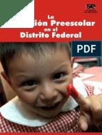La Educación Preescolar en El Distrito Federal