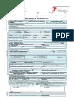 inscripción Seguridad Social. Modelo TA6