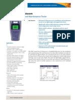 JDSU SmartClass E1 Data Ds Acc Tm Ae