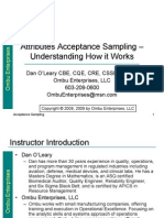 Attributes Acceptance Sampling Understanding How It Works