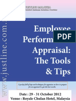 Employee Appraisal-Tools & Tips