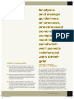 Analysis Design Guidelines Precast CFRP Grid