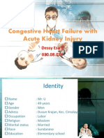Congestive Heart Failure With Acute Kidney Injury