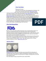Misoprostol Cytotec Obat Telat Bulan