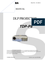 Toshiba Tdp-p8 Dlp Projector