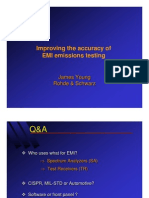Improving EMI Accuracy