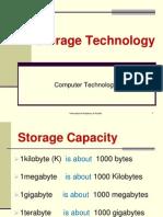 Chapter 2 Storage Technology