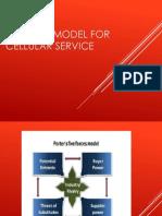 Porter's model for cellular service