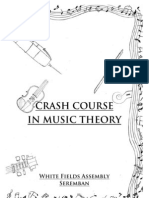 Crash Course in Music Theory (White Fields Assembly Seremban)