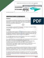 Normas Reguladoras de Las Competiciones 2012-2013
