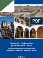 Documentos Fundamentales Para El Patrimonio Cultural