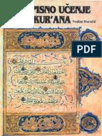 Propisno učenje Kur'ana (sufara i tedžvid)