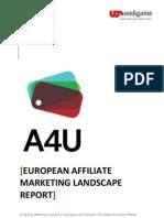 A4u European Landscape Report 2011