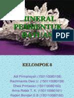 Presentasi No 2 7 Mineral Pembentuk Batuan