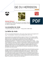 Page 1 Du Herisson de Jade