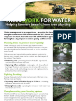 Water farming flyer