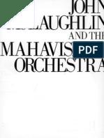John McLaughlin Mahavishnu Orchestra Songbook