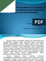 Ppt Tugas 1 Metode FTCS, LAASONEN