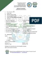 November 6, 2012 - NSM Day Planning