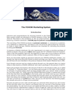 The FOHOW Marketing System