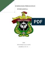 Paper Kerjasama Perdagangan Internasional