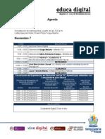 Agenda Educa Digital Nov 3
